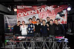 Foto Gruppo III Corso dj UD 2010 a